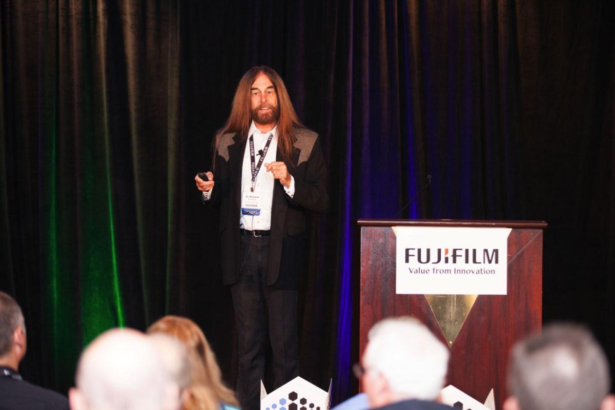 Ric Bradshaw, former IBM engineer, presents on benefits of BaFe vs Sputtered tape